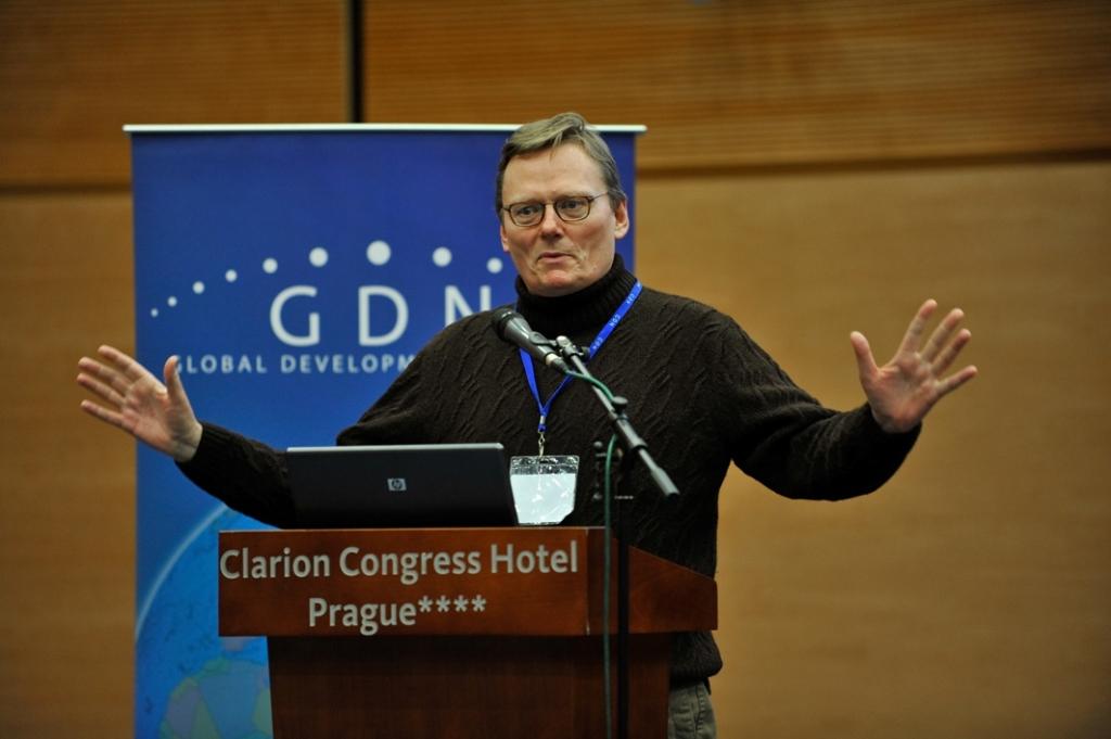 James Robinson 教授/ 相片由受訪者提供