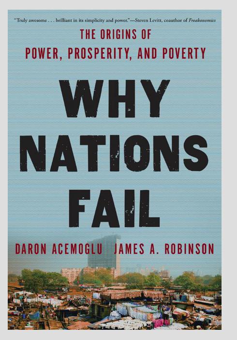 《Why Nations Fail》封面